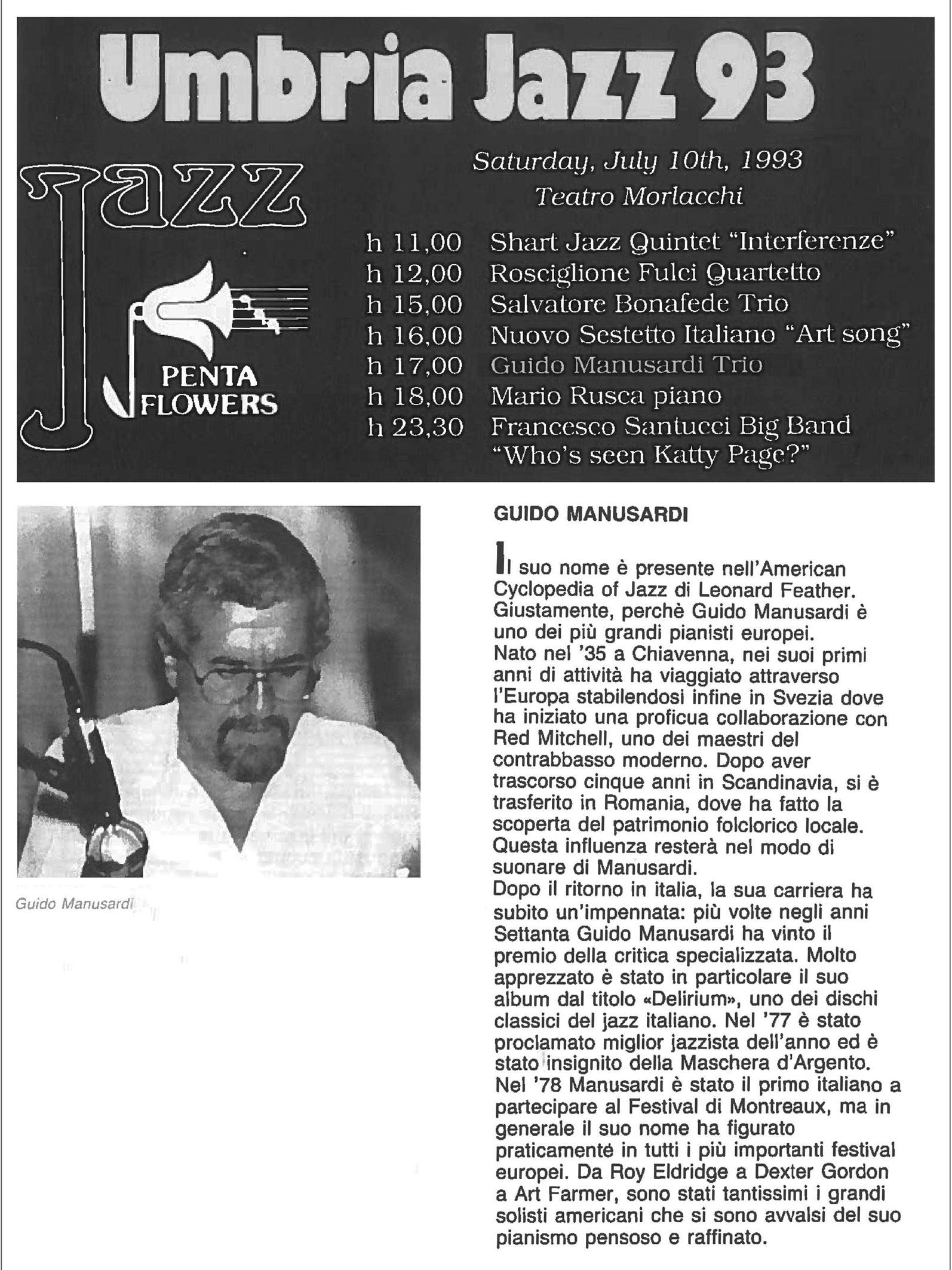 UMBRIA JAZZ 1993