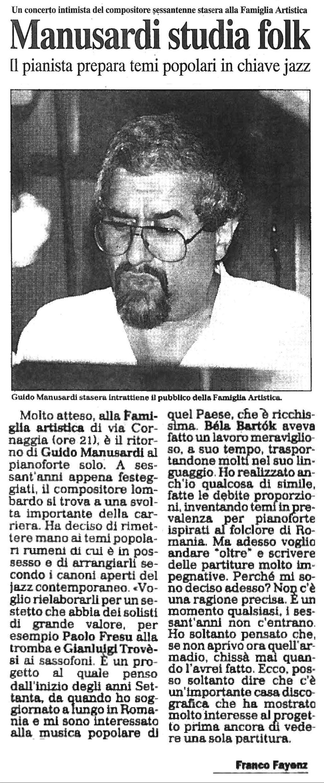 ATICOLO DI FRANCO FAYENZ